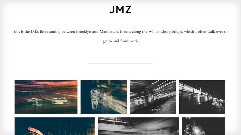 A Simple Way to Create Beautiful Photo Essays on the Web