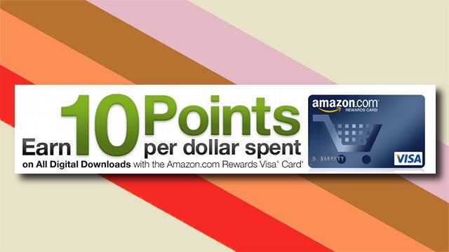 Use Your Amazon Rewards Card to Get 10% Off All Digital Download Purchases