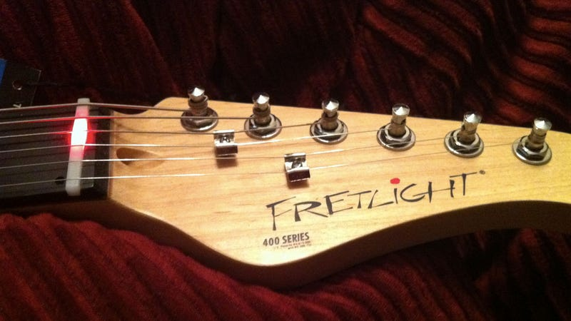 The Fretlight Guitar Sets a Shining Example for Hopeful Guitar Heroes