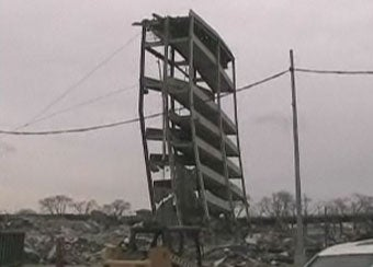 The Final Collapse Of Shea Stadium