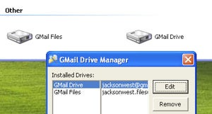 Gmail Drive Config Mounts Multiple Gmail Accounts as Disks