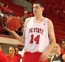 America's Dumbest Student-Athlete Nominee: Jordan Vandenberg, North Carolina State