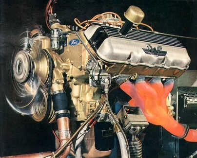 Engine Of The Day: Ford FE V8