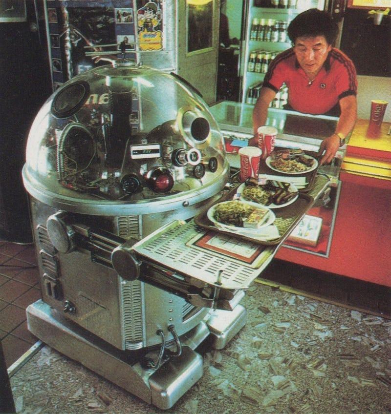 The Disco-Blasting Robot Waiters of 1980s Pasadena