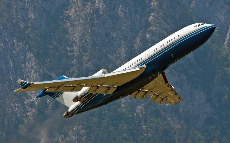 Boeing 727 and RATO
