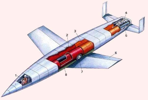 The Nazi Rocket Plane to Nuke New York From Orbit