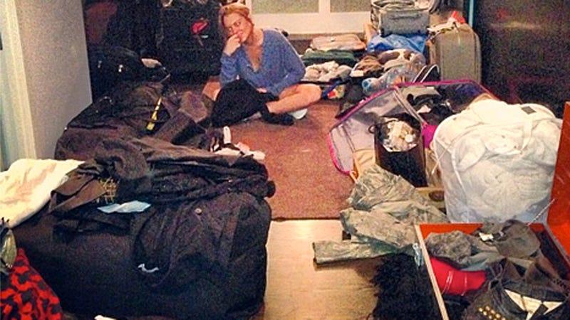 Lindsay Lohan Packing '270 Looks,' 0 Scruples for Rehab