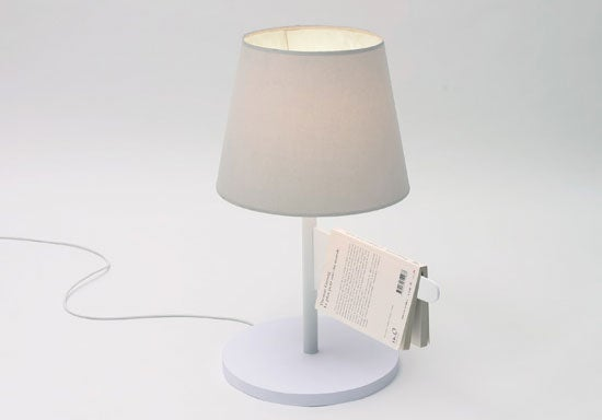 Bookmark Bedside Lamp Saves Your Spot