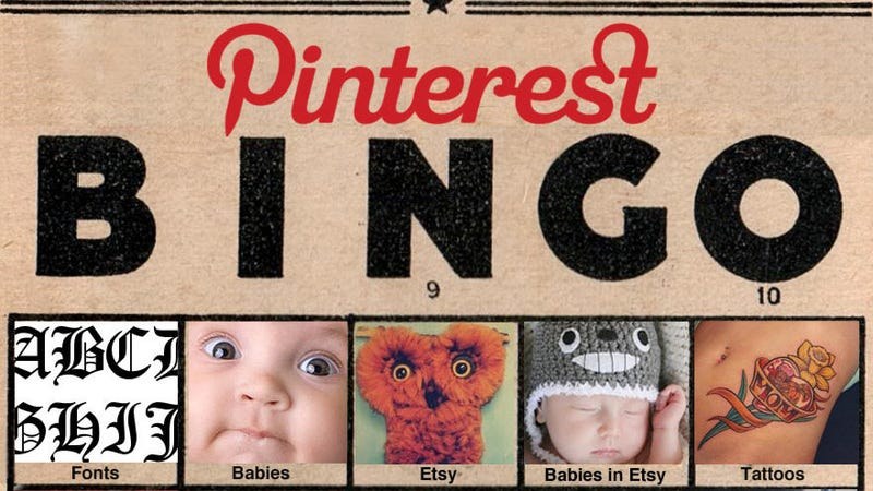 Determine How Predictable Your Friends Are With Pinterest Bingo