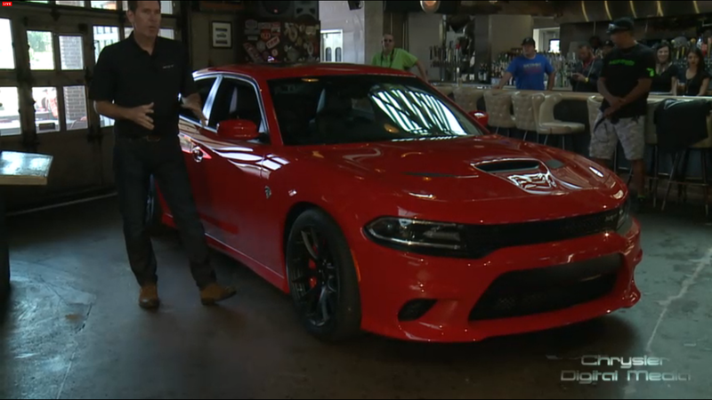 The 707 HP Dodge Charger SRT Hellcat: The World's Most Powerful Sedan