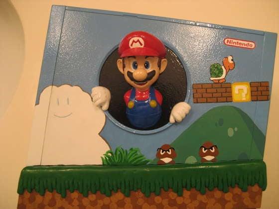 The 3D Mario Wii Casemod