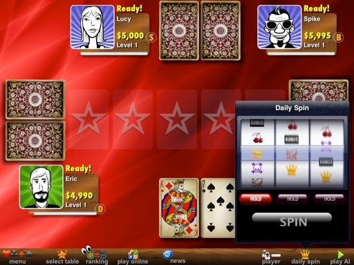 Hit the Gym. You're Going to Be Able to Play Video Strip Poker on the iPad 2 Tomorrow