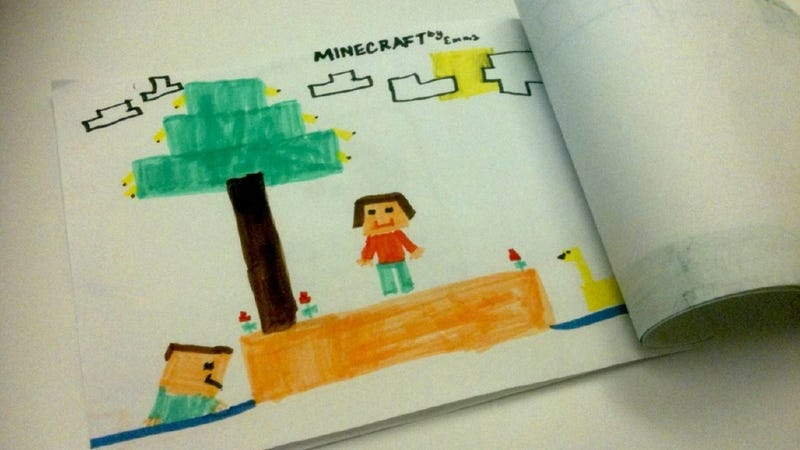 Teaching First-Graders with Minecraft