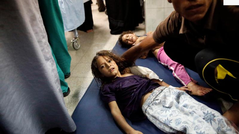 At Least 16 Palestinians Killed in Israeli Strike on School Shelter