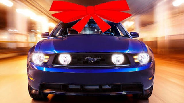 Do people actually get new cars for Christmas?