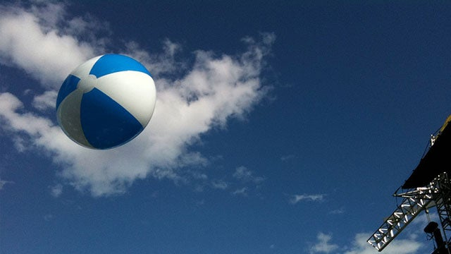 Make Air Travel More Comfortable with a Beach Ball