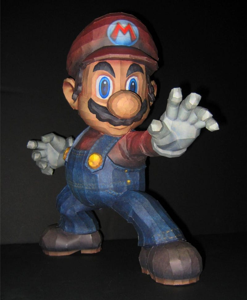 Mario Papercraft? More Like Paper Mario