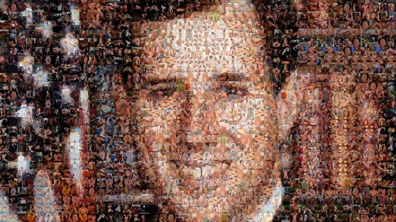Rick Santorum Made Entirely of Gay Porn