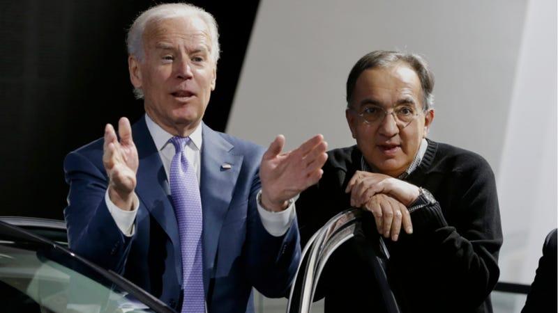 VP Joe Biden Being Ridiculous At The Detroit Auto Show