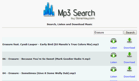 1 mp3search: