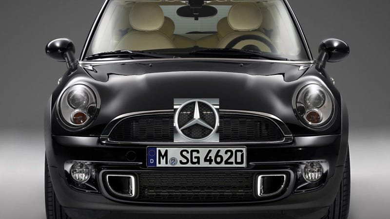 Mercedes Says No To Mini Fighter So Don't Encourage Them