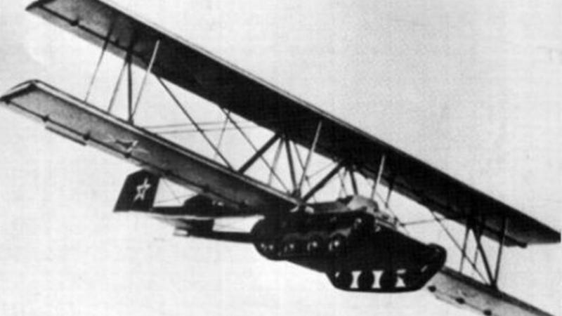 The Amazing Antonov A-40: A Flying Tank