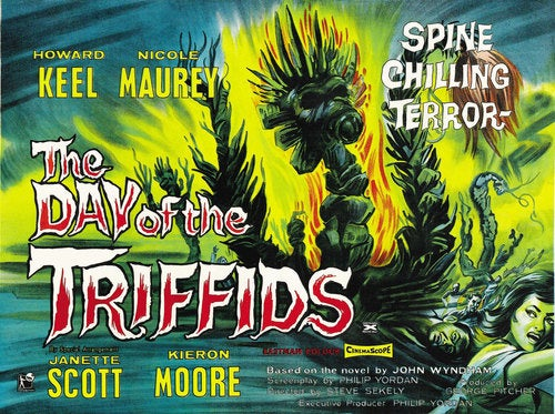 Sam Raimi directing a Day of the Triffids remake?