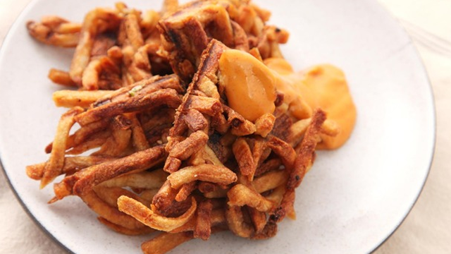 Turn Old French Fries into Delicious Waffle Fries