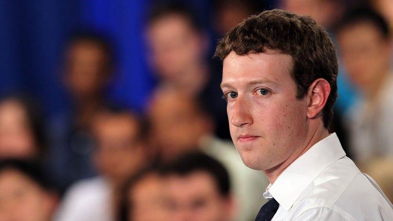 Mark Zuckerberg Says He's Being Framed