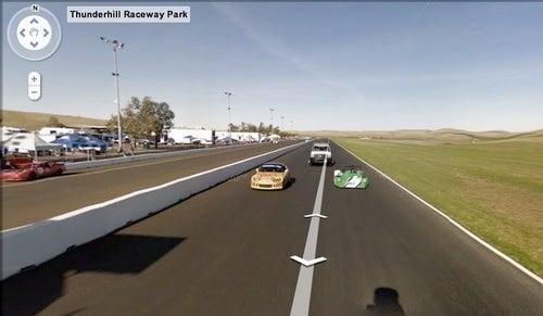 Google Street View Maps Thunderhill Raceway