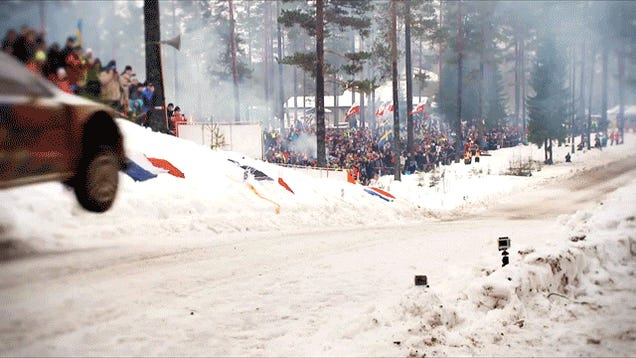 Sebastien Ogier Jumps 41 Meters At Rally Sweden
