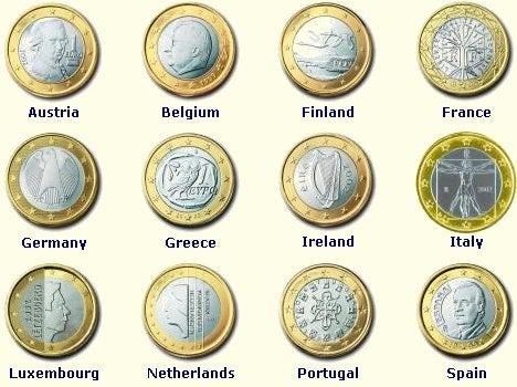 Euromoneys Are So Colorful Like Monopoly Money