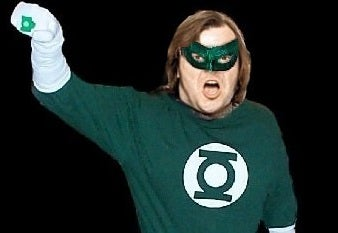 Shallow Hal Jordan? Read the screenplay for Green Lantern starring Jack Black, and be glad it never happened