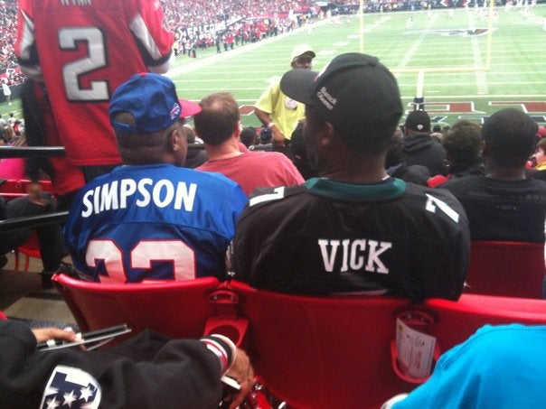 The Guy In The Rae Carruth Jersey Went On A Beer Run