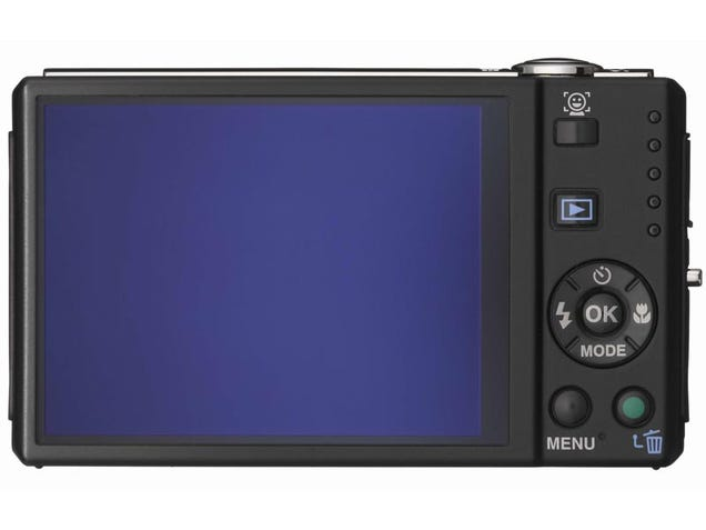 Optio V20 from Pentax has 5x Zoom, Smile Recognition and Blink Detection