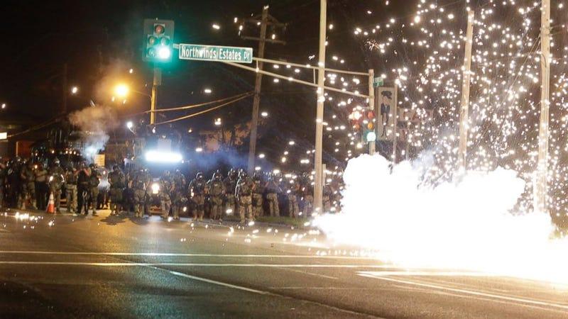 Ferguson, if it weren't in America