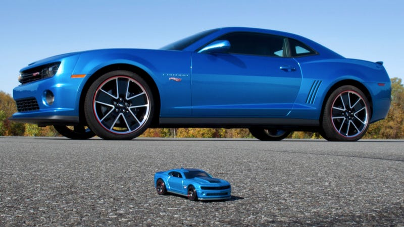 Chevy Will Turn Your Camaro Into A Hot Wheels Car For $7,000