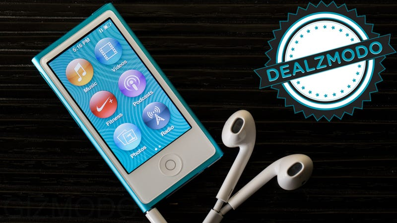 The Newest iPod Nano Is Your Deal of the Day