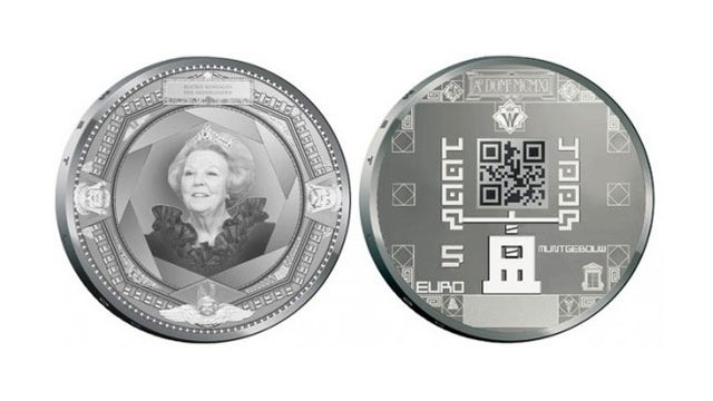 The Dutch are Making QR-Coded Coins. Seriously.