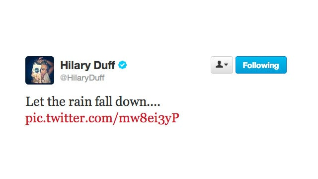 Hilary Duff Quotes the Best Song Ever