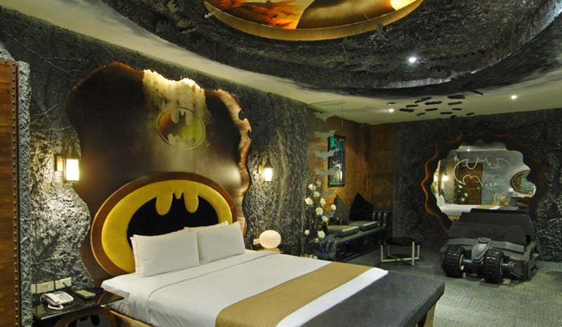 The Romantic Batman Lair You Can Book for $50 a Stay