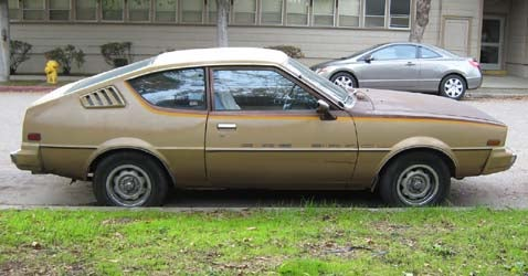 1980 Plymouth Fire Arrow, With Bonus Malaise Louver Poll