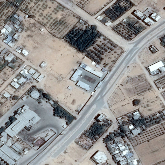 The destruction of Gaza in before and after satellite images
