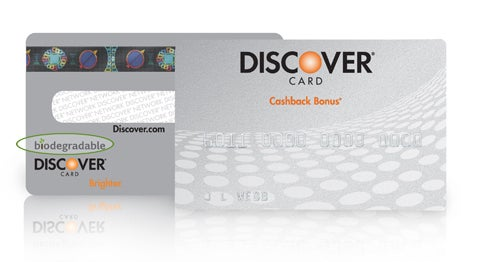 Discover Card Biodegrades Your Debt Away