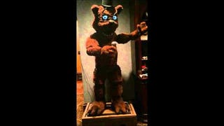 Real-Life <i>Five Nights At Freddy's</i> Animatronic Is Not Cool, Man