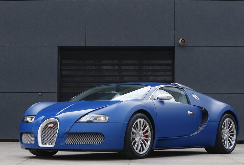 Bugatti Veyron Bleu Centenaire: Papa Smurf Gets A Brand New Ride