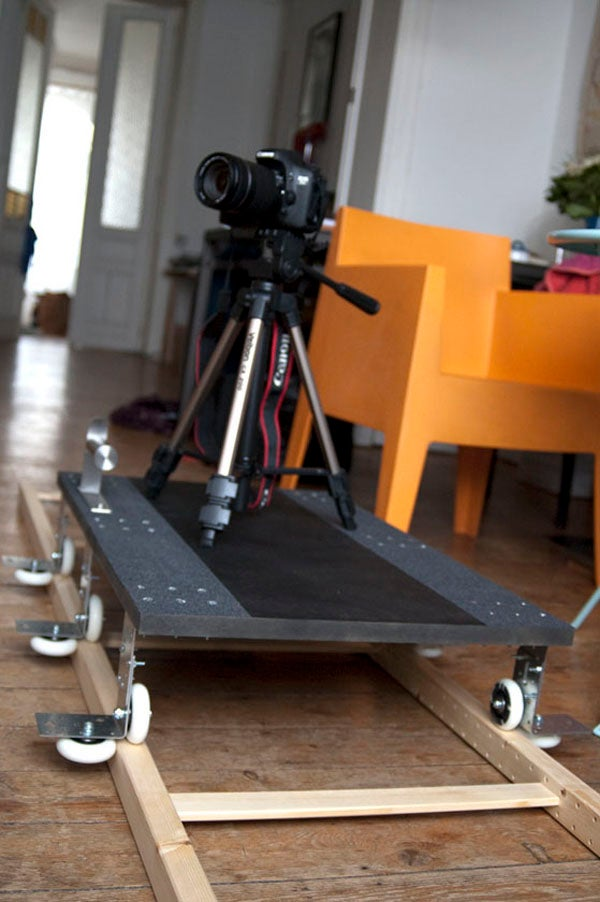 $30 Camera Dolly is the Quickest, Most Useful Ikea Hack I've Seen in a While