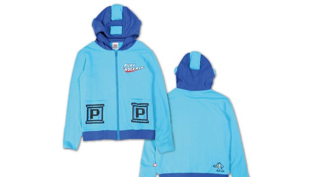 A Mega Man Hoodie. That Comes With a Mega Buster.