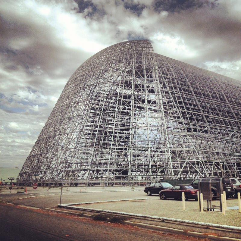 Google's Got a NASA Blimp Hangar To Go With Its Barge