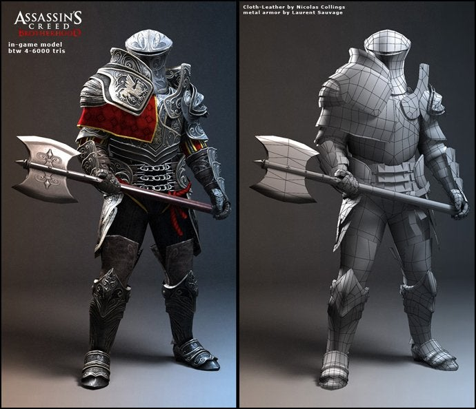 This is What Assassin's Creed III's Connor Used to Look Like